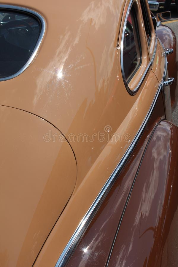 Brown Antique Car Royalty Free Stock Images