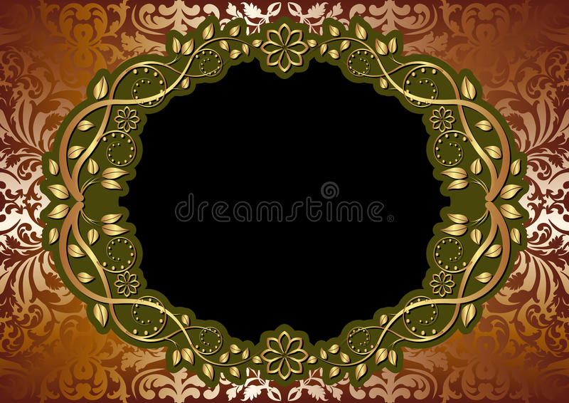 Download Brown background stock vector. Illustration of classical - 27282088