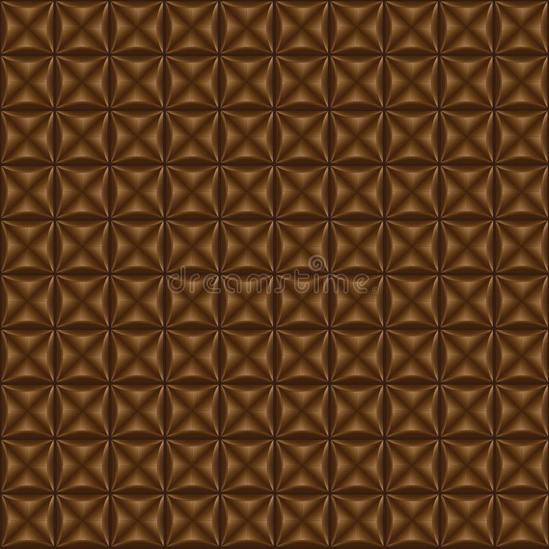 Brown background, chocolate color royalty free illustration