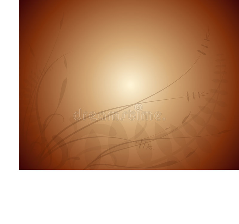 Download Brown Background Foliage stock vector. Illustration of merry - 7575123