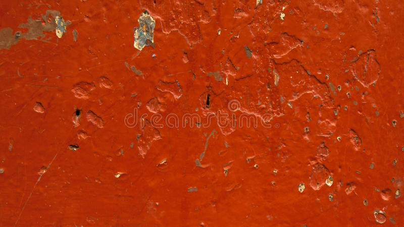 Brown background, paint on a wooden surface. royalty free stock photography