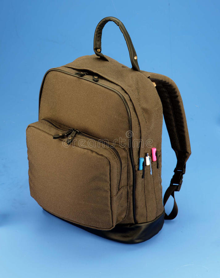 Free Brown Backpack Royalty Free Stock Photos - 14925448