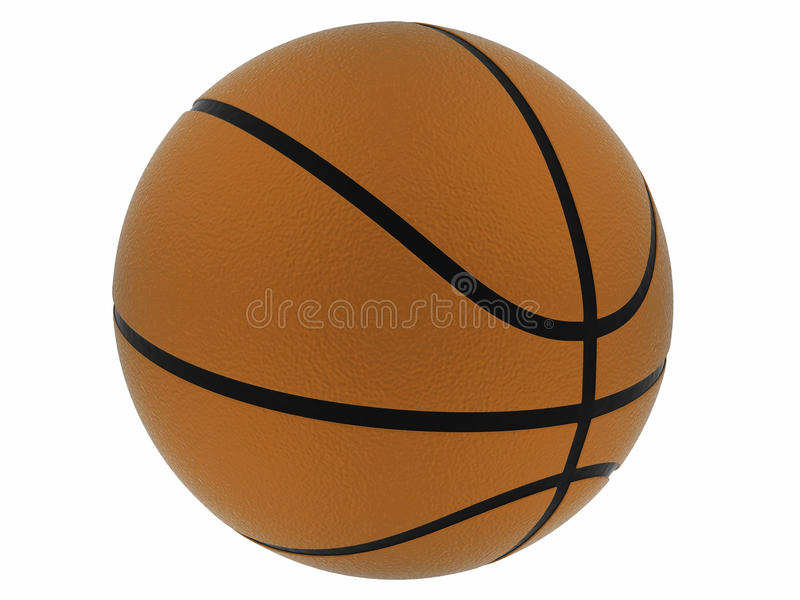 Brown Basket Ball Stock Images