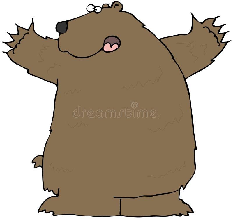 Brown Bear vector illustration