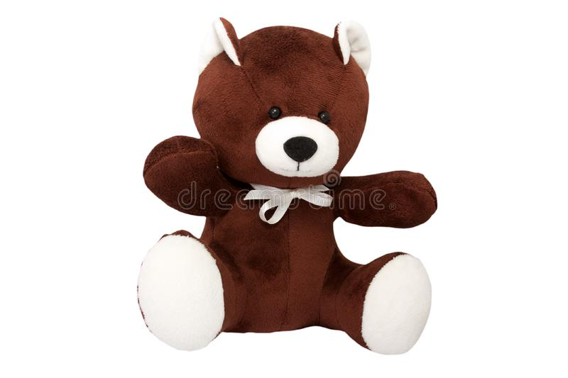 Download Brown bear stock photo. Image of stuffed, teddy, fluffy - 17986700