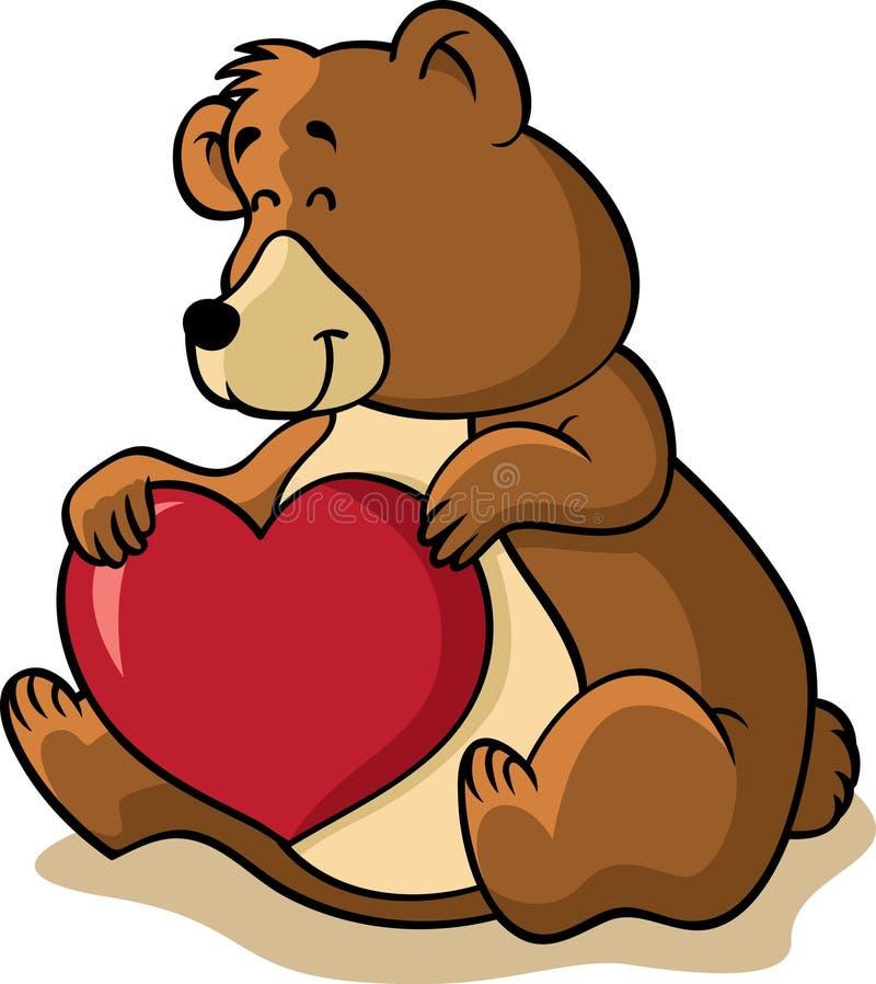Download Brown bear stock vector. Image of clip, mammal, smile - 18372471