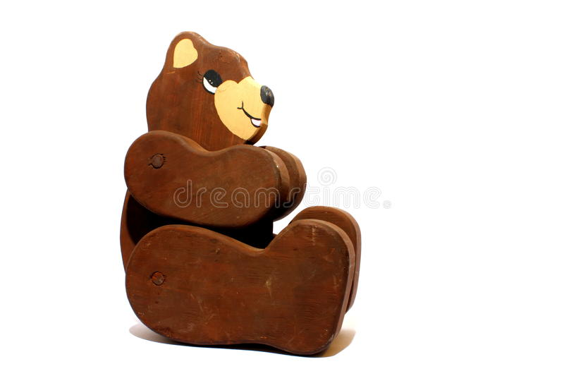 Download Brown Bear stock photo. Image of hand, brown, wood, white - 28165808
