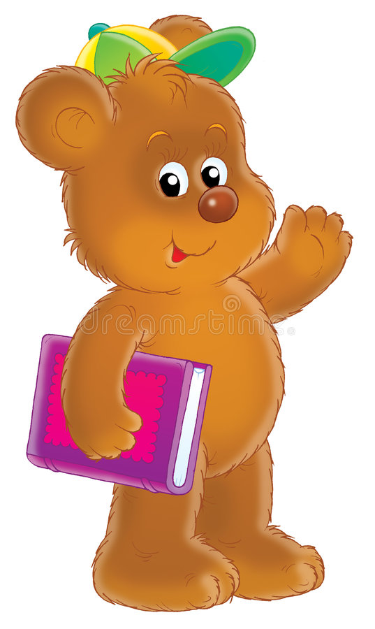 Download Brown bear cub stock illustration. Image of funny, childish - 1562351