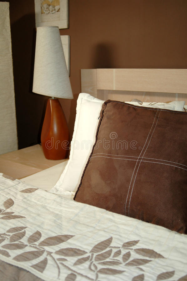 Download Brown Bedroom Decoration Stock Photos - Image: 16347993