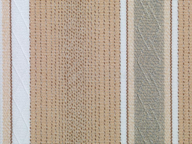 Brown and beige retro fabric