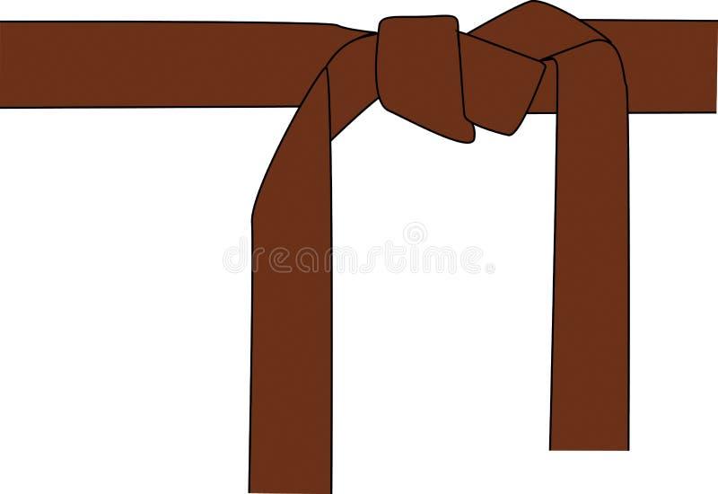 Download Brown belt stock illustration. Image of illustration, kimono - 9463254