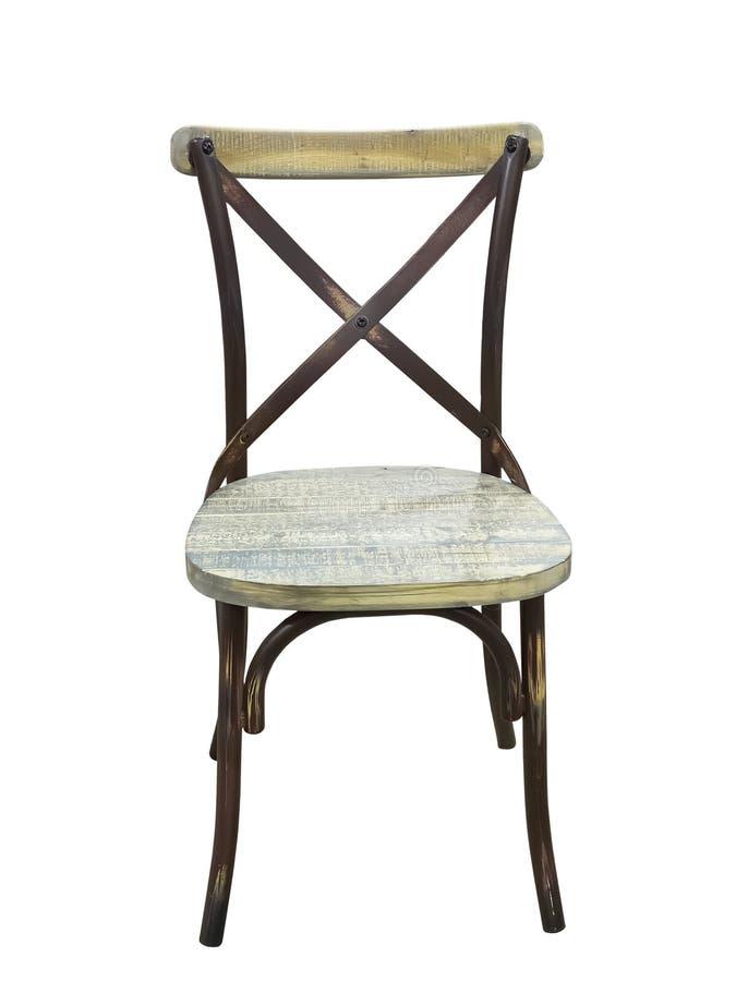 Brown bentwood krzesło zdjęcie royalty free