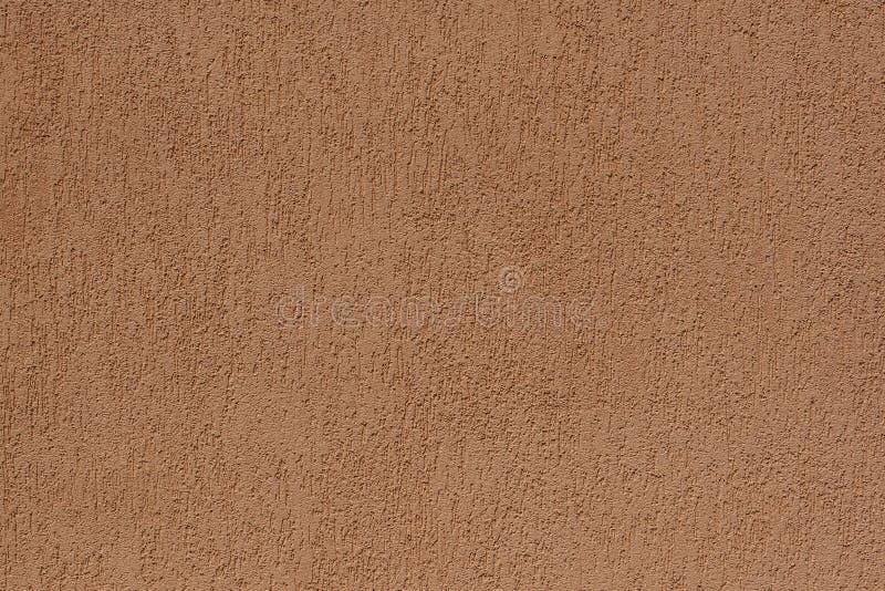 Brown betonowej ściany tła tekstura dla komponować zdjęcia stock