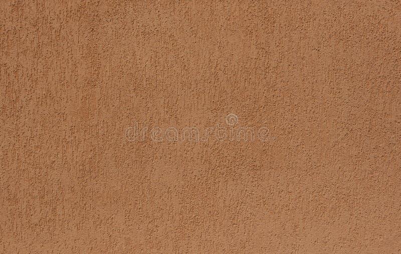 Brown betonowej ściany tła tekstura dla komponować zdjęcie stock