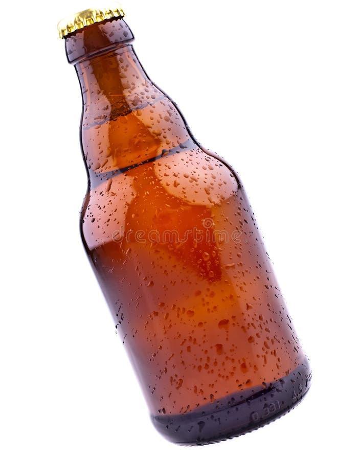 Brown-Bierflasche (deutsches Bier) Lizenzfreies Stockfoto