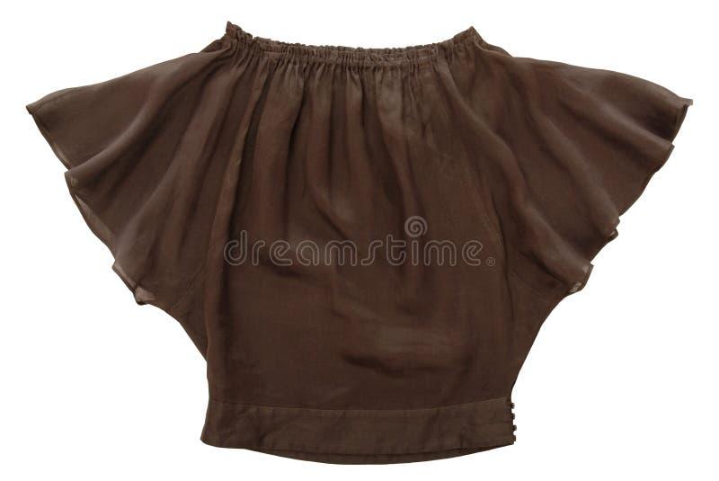 Brown blouse stock photos