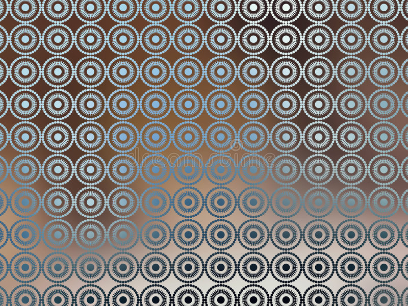 Brown Blue Irridescent Wallpaper stock illustration