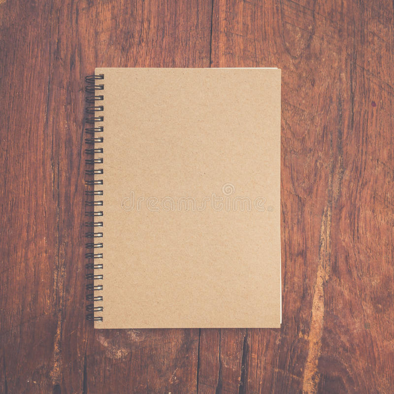 Brown book paper royalty free stock photo
