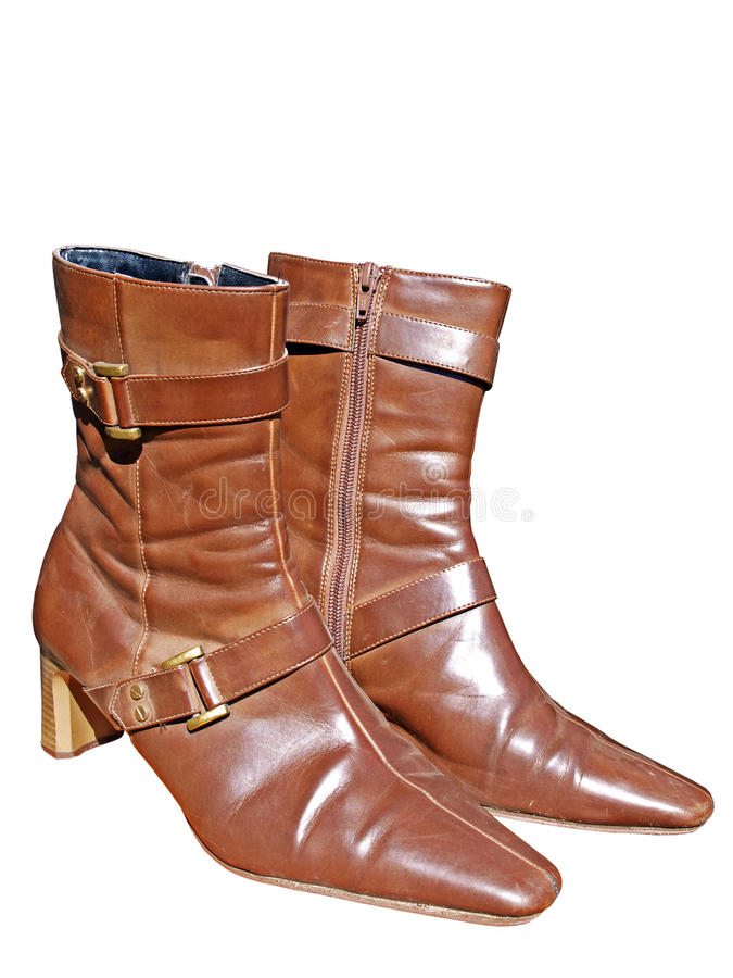 Download Brown boots stock image. Image of background, natural - 18224337
