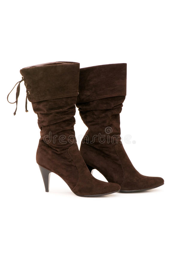 Download Brown Boots Isolated Royalty Free Stock Images - Image: 9746719