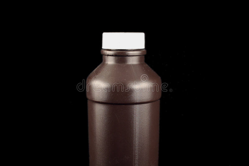 Brown Bottle royalty free stock photo