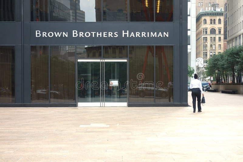 Brown-Brüder Harriman lizenzfreie stockfotografie