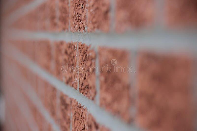 Brown Brick Wall Close Up royalty free stock photos