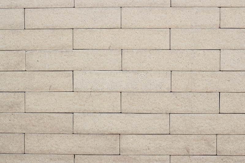 Brown brick wall pattern stock photo