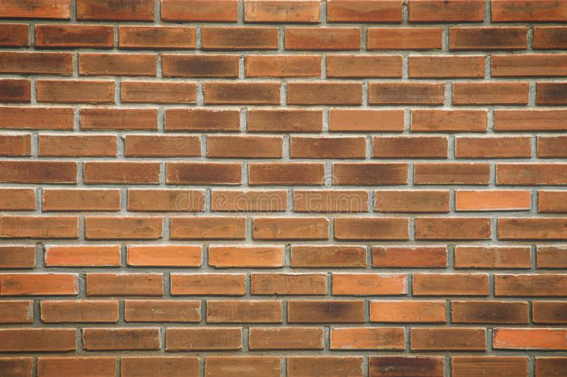 Brown Brick Wall Texture stock images