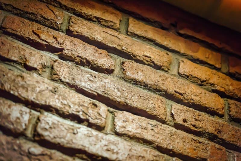 Brown brick wall , Texture of a brick, loft interior, interior, stock photography