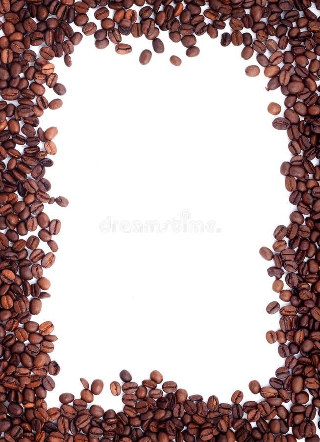 Brown briet Kaffeebohnen lizenzfreie stockfotografie