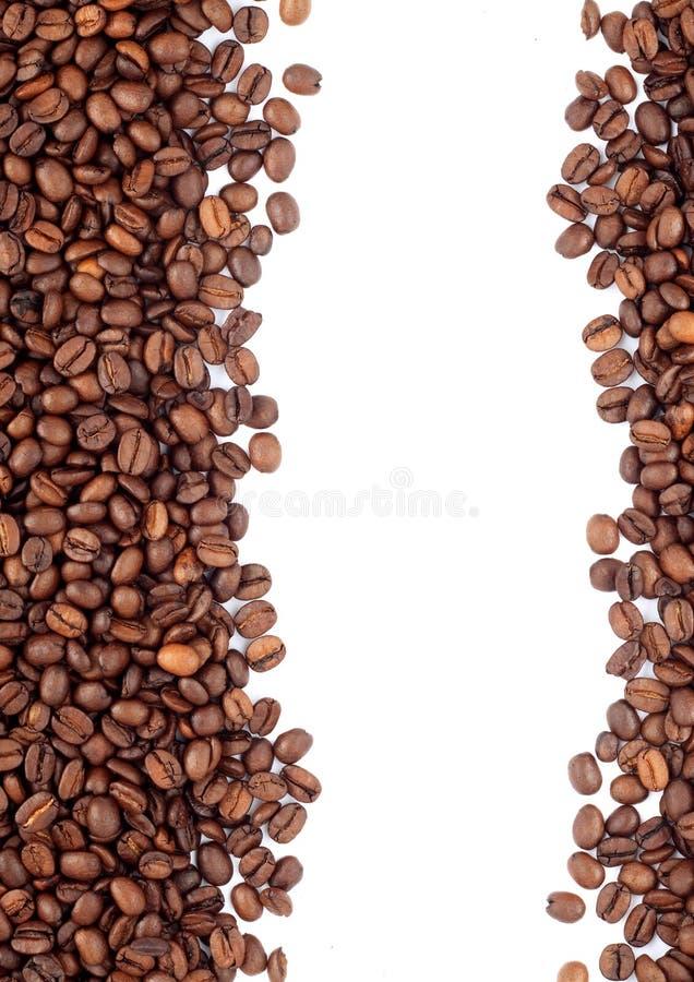 Brown briet Kaffeebohnen stockfotos