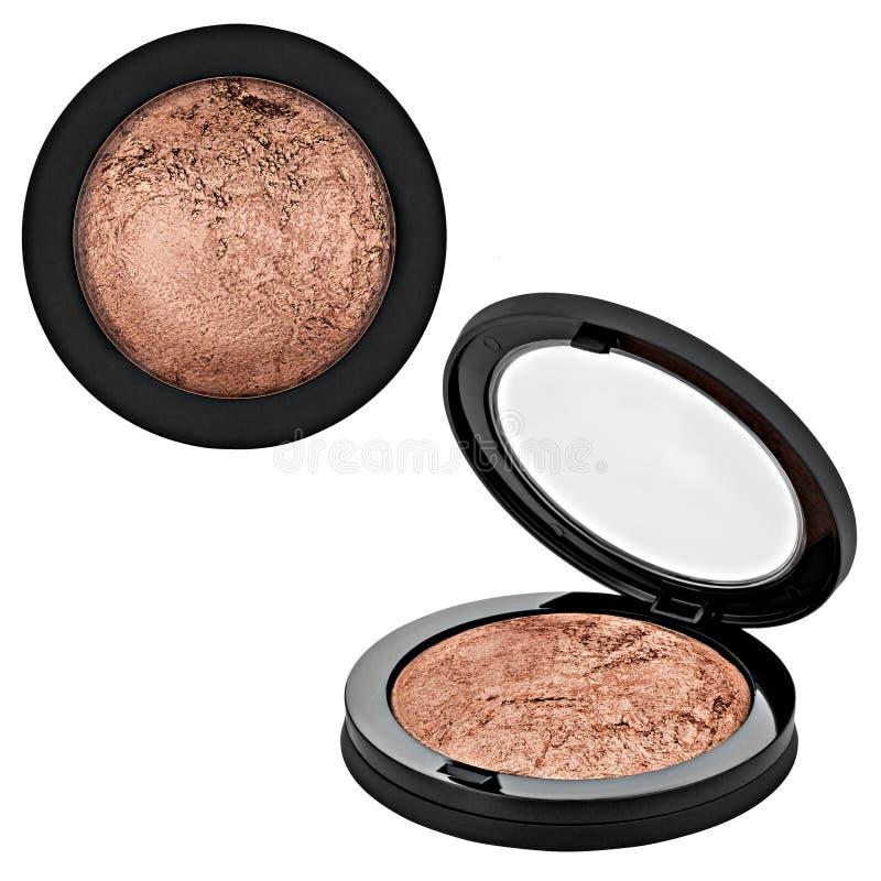 Brown-bronzer, Pulver lizenzfreie stockfotografie