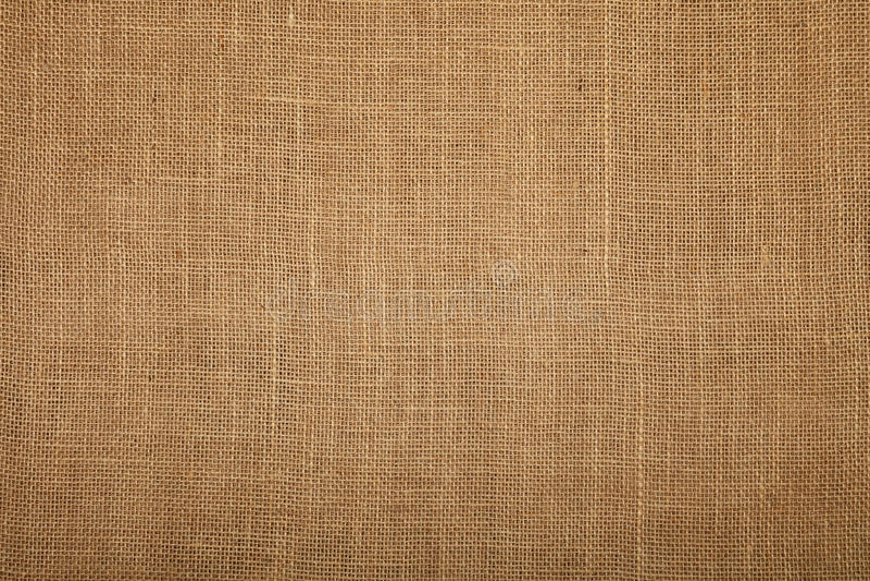 Brown burlap jute canvas texture background royalty free stock photos