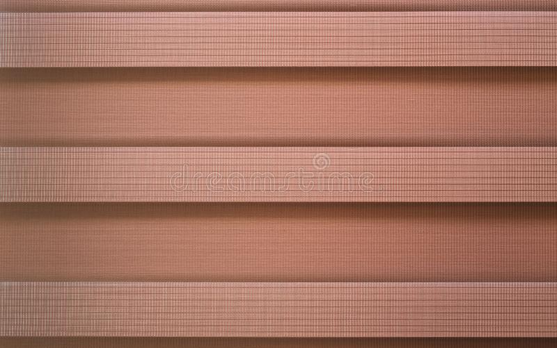 A Brown canvas sun-blinds interior stock photography