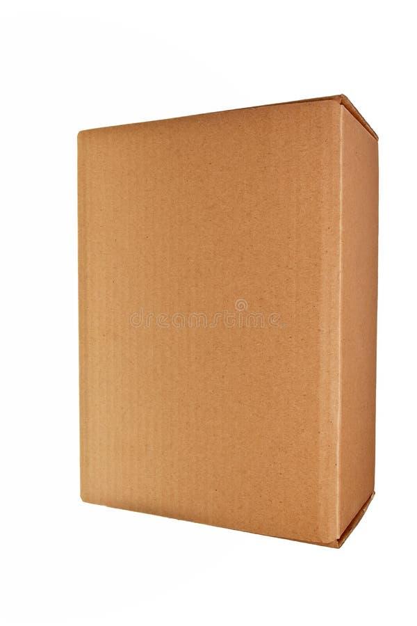 Download Brown carton box. stock photo. Image of storage, white - 13333208