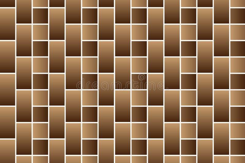 Brown cegły - wektoru wzór ilustracji