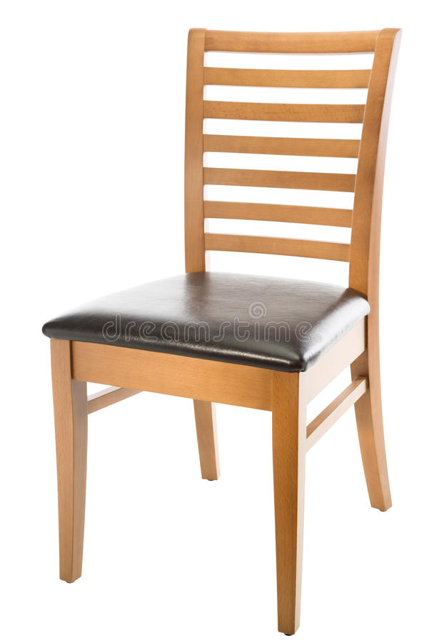 Brown chair stock photography