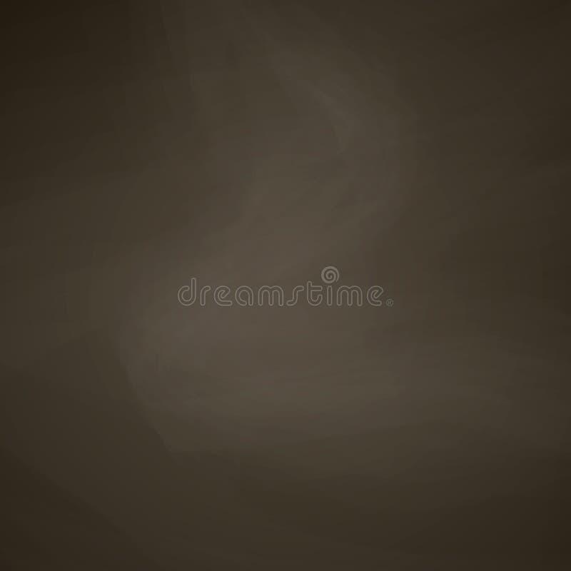 Brown chalkboard również zwrócić corel ilustracji wektora ilustracja wektor