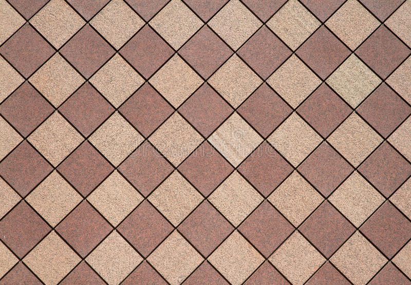 Download Brown Checkered Wall Horizontal Stock Photo - Image: 14942852
