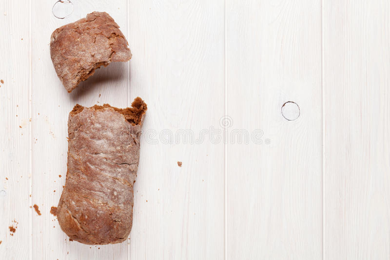 Brown ciabatta stock photography
