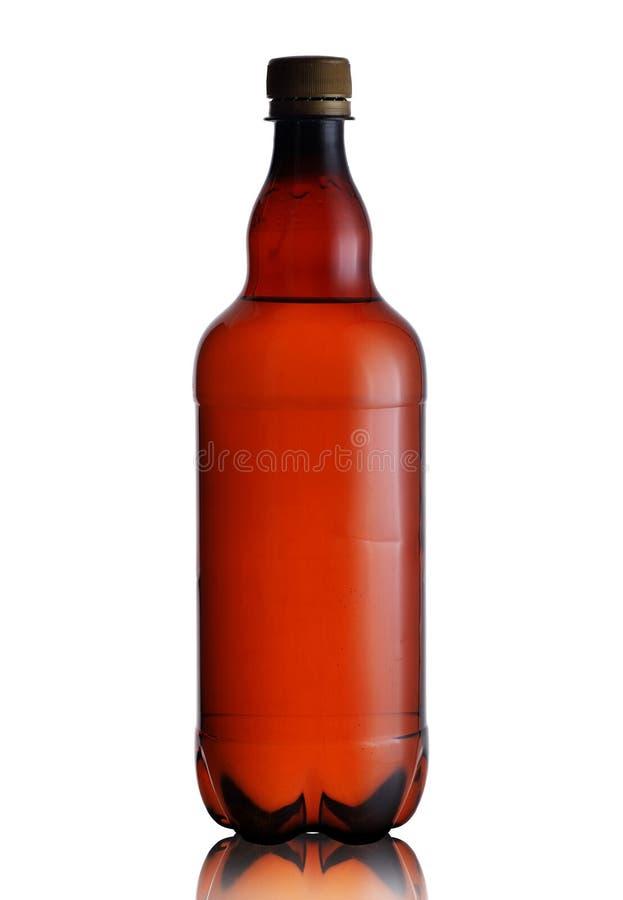 Brown ciekła butelka obrazy royalty free