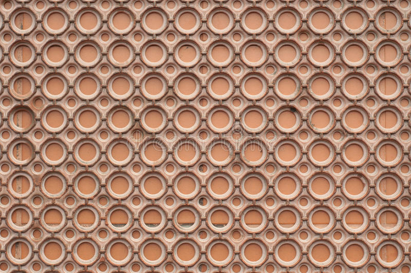 Brown circular plastic background royalty free stock images