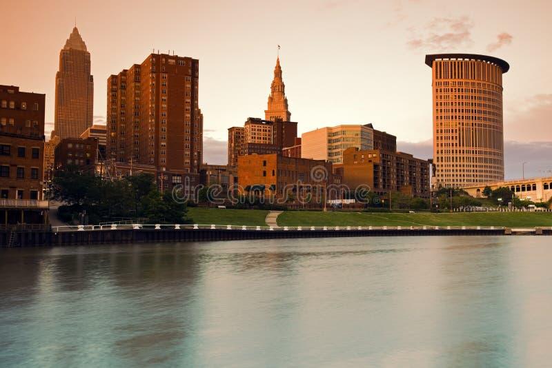 Brown Cleveland imagem de stock