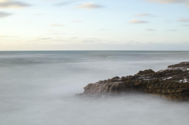 Brown Cliffs Over Grey Sea Of Fogs Free Public Domain Cc0 Image