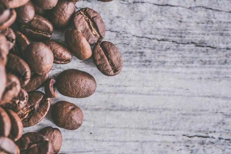 Brown Coffee Beans stock images
