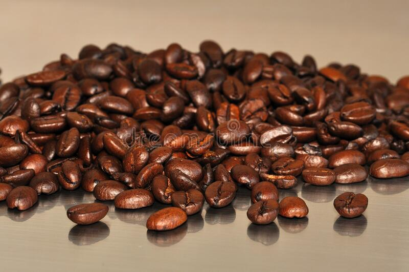 Brown Coffee Beans royalty free stock photography