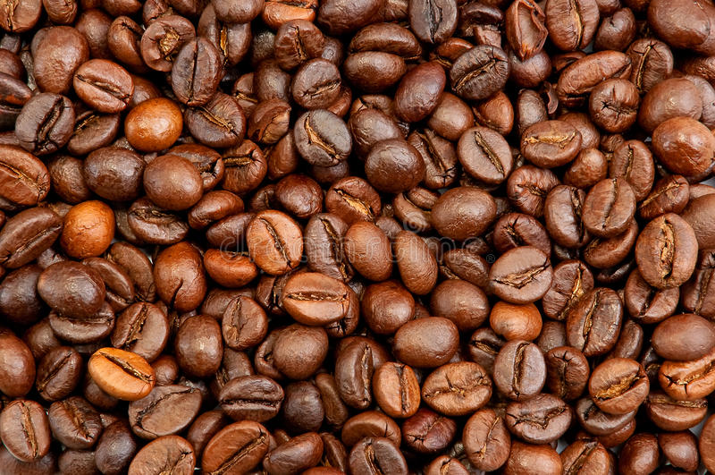 Download Brown Coffee Beans Background Stock Image - Image: 19823189