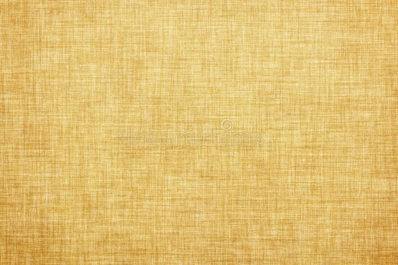 Brown colored linen texture or vintage canvas background. Natural brown colored linen texture or vintage canvas background royalty free illustration