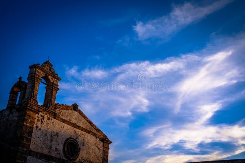 Brown Concrete Chapel Under Cloudy Blue Sky Free Public Domain Cc0 Image